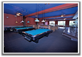 Edison Park Inn Pool Table